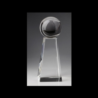 Crystal Tennis Awards Trophy