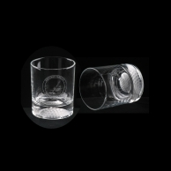 Engraved Crystal Golf Gift Glasses